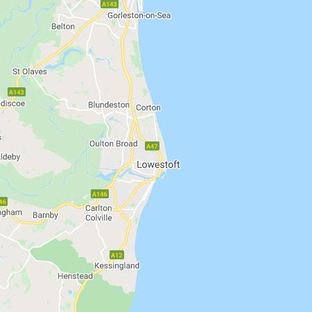 Area covered: Lowestoft